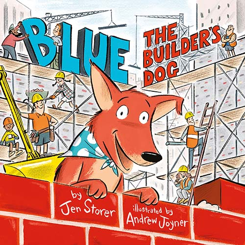 Blue, The Builder's Dog