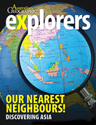 Our Nearest Neighbours! Discovering Asia