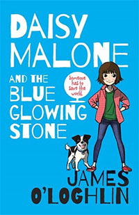 Daisy Malone and the Blue Glowing Stone